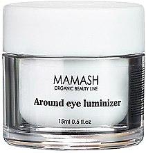 Духи, Парфюмерия, косметика Освежающий пептидный крем под глаза - Mamash Organic