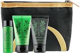 Духи, Парфюмерия, косметика Набор - Orofluido Amazonia (balm/35ml + shampoo/50ml + mask/40ml + bag)