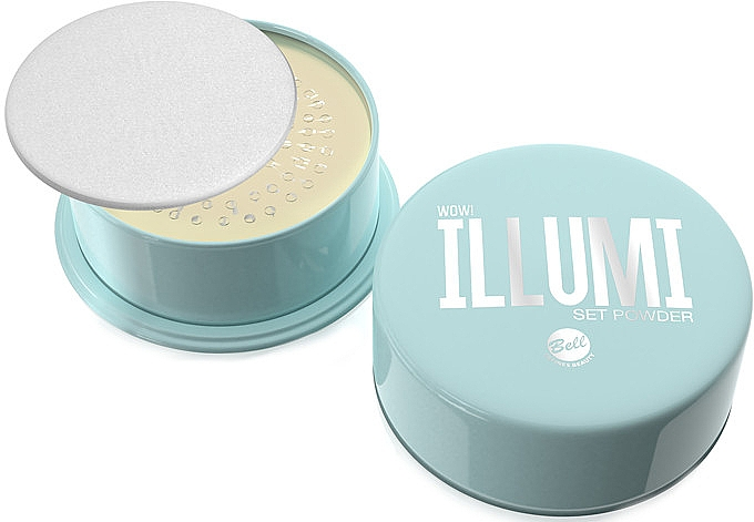 Пудра рассыпчатая для лица - Bell Wow Illumi Loose Powder Illuminating