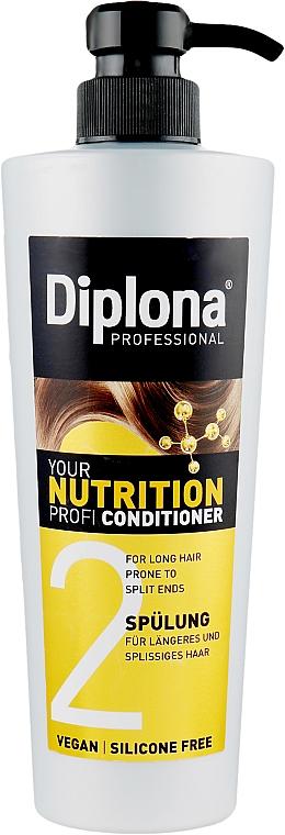 """Кондиционер для длинных волос с секущимися кончиками """"Питательный"""" - Diplona Professional Nutrition"""