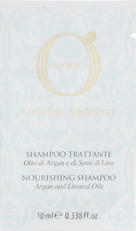 Шампунь для волос с аргановым маслом - Barex Italiana Olioseta (пробник)