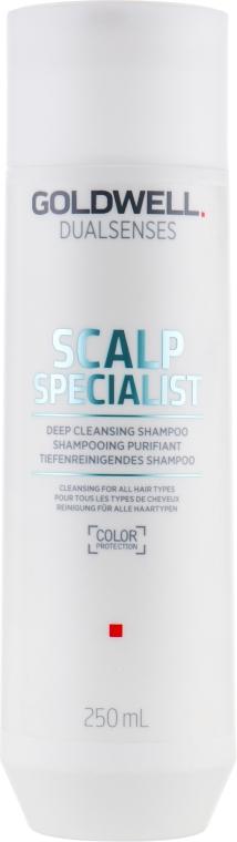 Шампунь глубокого очищения - Goldwell DualSenses Scalp Specialist Deep Cleansing Shampoo