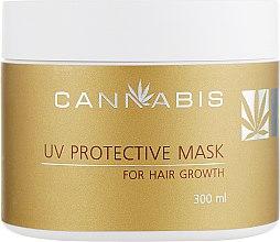 Духи, Парфюмерия, косметика Маска для роста волос з защитой от ультрафиолета с экстрактом каннабиса - Cannabis UV Protective Mask for Hair Growth