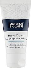 Духи, Парфюмерия, косметика Крем для рук - Oxford Biolabs Nourishing & Anti-oxidising Hand Cream
