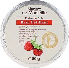 Духи, Парфюмерия, косметика Бомбочка для ванны с ароматом земляники - Nature de Marseille Strawberry