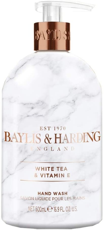 Жидкое мыло для рук - Baylis & Harding White Tea & Vitamin E Hand Wash