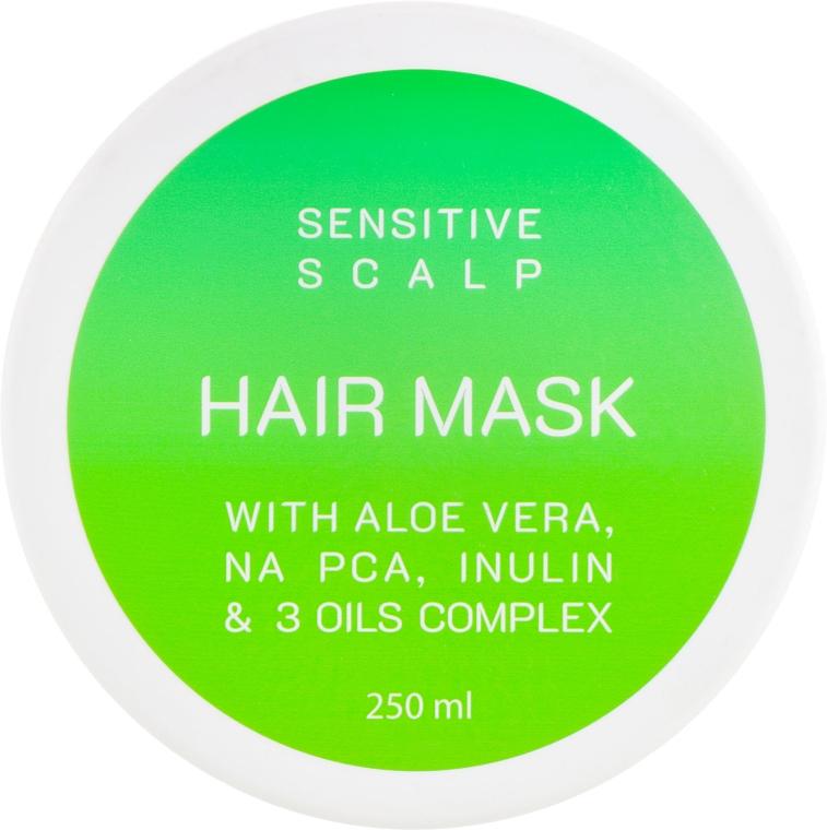 Маска для чувствительной кожи головы и всех типов волос - Looky Look Sensitive Scalp Hair Mask