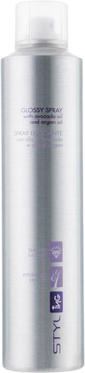 Спрей-блеск для волос - ING Professional Glossy Spray