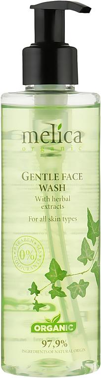 Нежное очищающее средство для лица с растительными экстрактами - Melica Organic Gentle Face Wash
