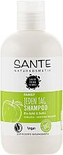 Духи, Парфюмерия, косметика Биошампунь для ежедневного ухода за волосами «Яблоко и айва» - Sante Family Organic Apfel & Quince Shampoo