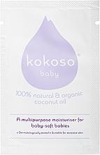 Духи, Парфюмерия, косметика Детское кокосовое масло - Kokoso Baby Skincare Coconut Oil (пробник)