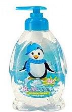 """Духи, Парфюмерия, косметика Детский гель для душа """"Пингвин мальчик"""" - Chlapu Chlap Bath & Shower Gel"""