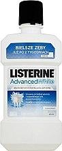 Духи, Парфюмерия, косметика Ополаскиватель для полости рта - Listerine Advanced White Clean Mint