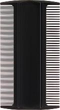 Духи, Парфюмерия, косметика Гребень гигиенический для волос 1598, черный - Top Choice