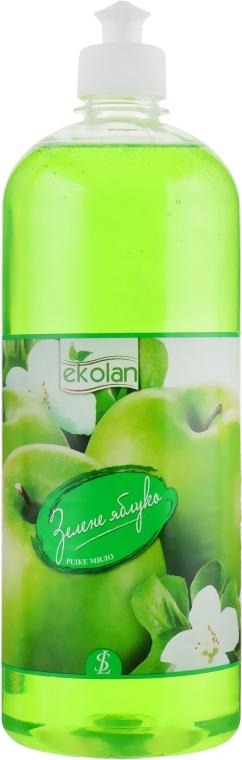 """Жидкое мыло """"Зеленое яблоко"""" пуш-пул - EkoLan"""