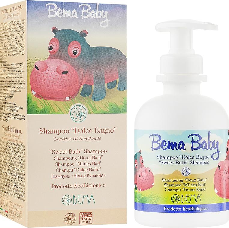 "Шампунь ""Нежное прикосновение"" - Bema Cosmetici Baby ""Sweet Bath"" Shampoo Soothing and Smoothing"