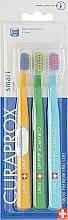 """Парфумерія, косметика Набір зубних щіток для дітей """"Smart"""", помаранчева, зелена, блакитна - Curaprox"""
