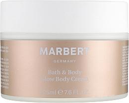 Духи, Парфюмерия, косметика Крем для тела - Marbert Bath & Body Glow Body Cream
