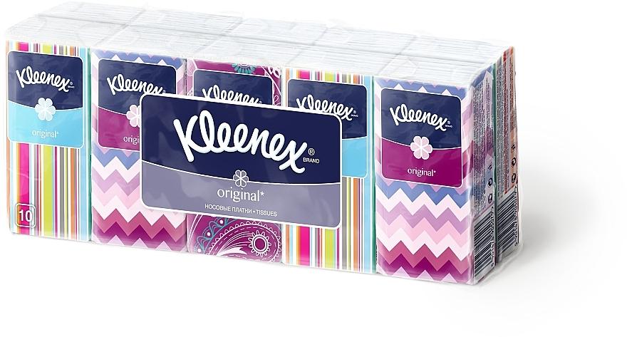"""Бумажные носовые платки """"Original"""", 10х10шт - Kleenex"""