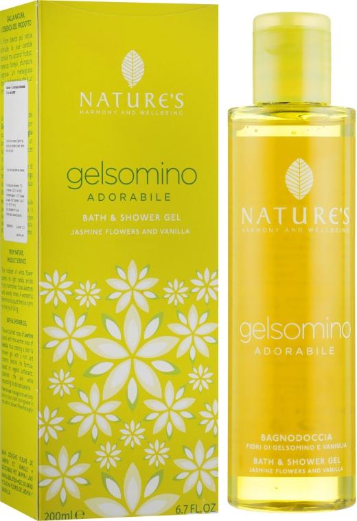 Гель для душа и ванны с жасмином и ванилью - Nature's Gelsomino Adorabile Bath & Shower Gel