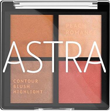 Палитра для макияжа лица - Astra Make-up The Romance Palette