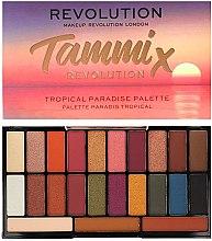 Духи, Парфюмерия, косметика Палетка теней для век - Makeup Revolution X Tammi Tropical Paradise Palette