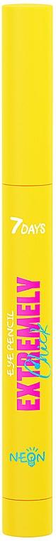 Карандаш для век - 7 Days Extremely Chick Neon Eye Pencil