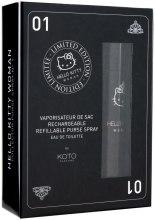 Духи, Парфюмерия, косметика Koto Parfums Hello Kitty Woman - Набор (edt/7,5ml + 2 refill)