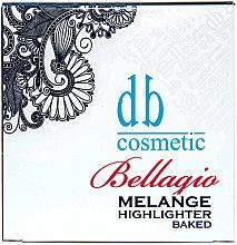 Духи, Парфюмерия, косметика Хайлайтер запеченный - Dark Blue Cosmetics Bellagio Bellagio Melange Baked