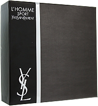 Духи, Парфюмерия, косметика Yves Saint Laurent L'Homme Sport - Набор (edt/100ml + sh/gel/50ml + af/sh/balm/50ml)