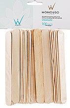 Духи, Парфюмерия, косметика Шпатель для депиляции широкий - ItalWax Wooden Waxing Spatulas Large