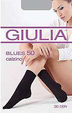 """Духи, Парфюмерия, косметика Носки """"Blues 50 calzino"""" для женщин, nero - Giulia"""