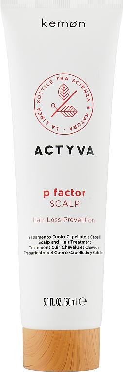 Средство для кожи головы против выпадения волос - Kemon Actyva P Factor Scalp