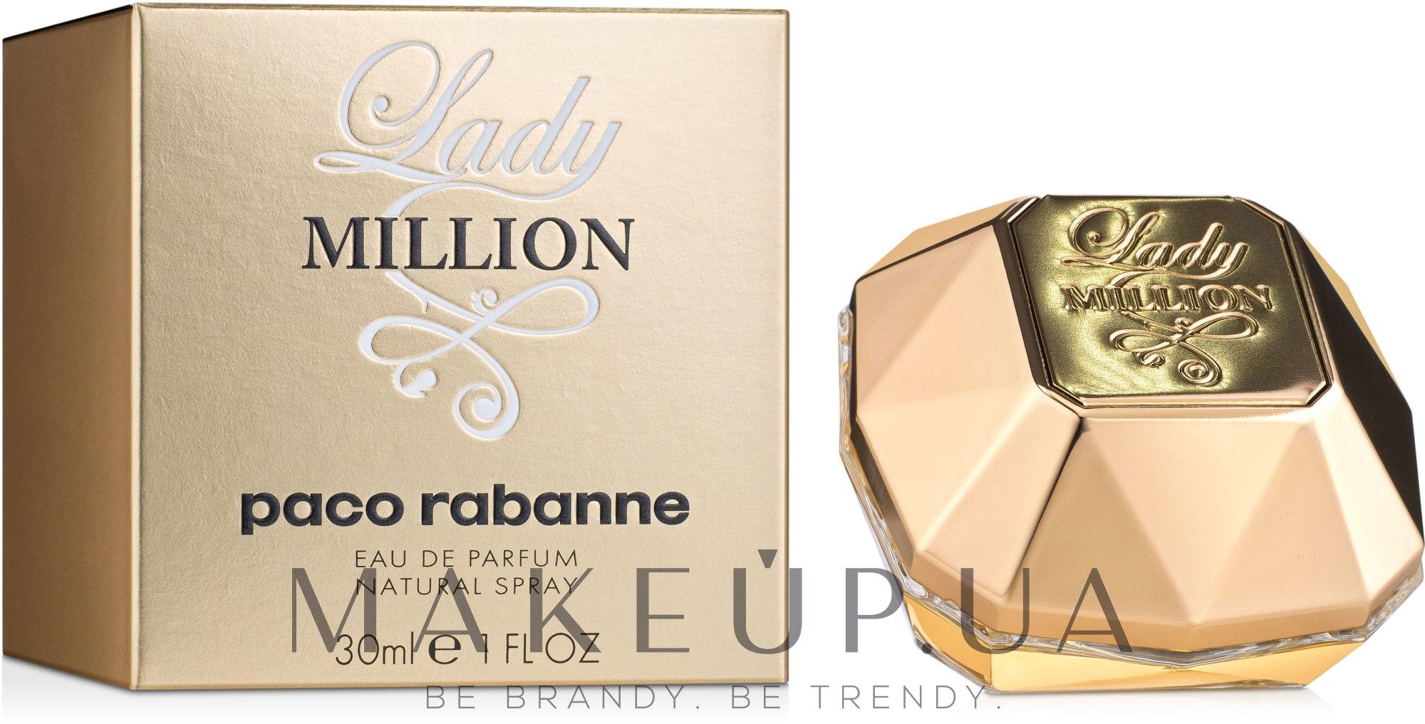 Paco Rabanne Lady Million - Парфюмированная вода — фото 30ml