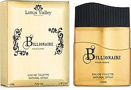 Духи, Парфюмерия, косметика Lotus Valley Billionaire - Туалетная вода