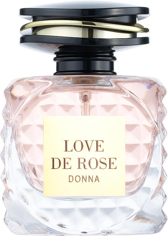 Fragrance World Love De Rose Donna - Парфюмированная вода