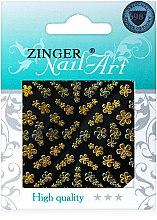Духи, Парфюмерия, косметика Наклейки для дизайна ногтей, fda-178 - Zinger Nail Art Sticker