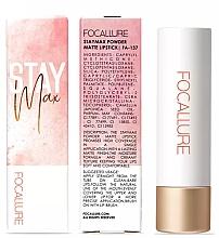 Духи, Парфюмерия, косметика Матовая помада для губ - Focallure Staymax Powder Matte Lipstick