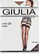 "Духи, Парфюмерия, косметика Чулки ""Chic"" 20 Den, calze-cappuccino - Giulia"