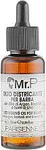 Духи, Парфюмерия, косметика Масло для бороды - Parisienne Italia Mr. P Detailing Oil For Beard