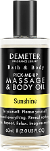 Духи, Парфюмерия, косметика Demeter Fragrance Sunshine - Масло для тела и массажа