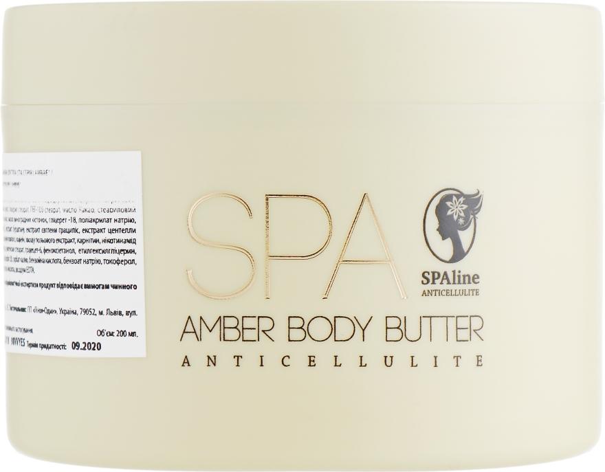 "Масло дла тела ""Ежевика и лайм"" - Lambre Anticellulite SPA Line Amber Body Butter"