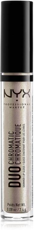 Блеск для губ - NYX Professional Makeup Professional Duo Chromatic Lip Gloss