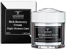 """Духи, Парфюмерия, косметика Обогащенный ночной крем """"Moorea"""" - Mamash Organic Rich Recovery Cream"""