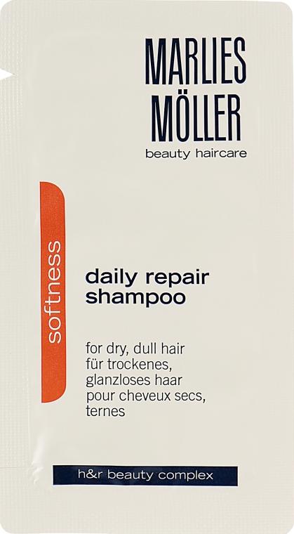Восстанавливающий обогащенный шампунь - Marlies Moller Softness Daily Repair Rich Shampoo (пробник)