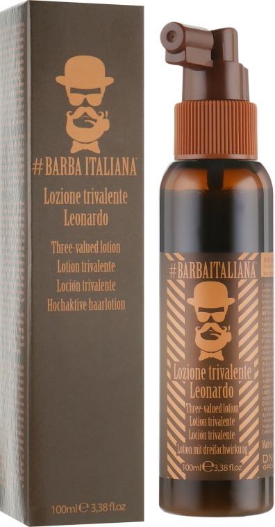 Тривалентный лосьон для волос - Barba Italiana Leonardo Hair Lotion
