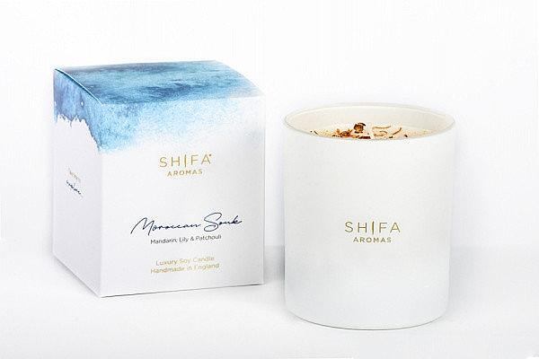 Свеча в стекле - Shifa Aromas Candle Glass Moroccan Souk