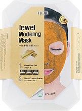 "Духи, Парфюмерия, косметика Набор ""Glam Gold"" - Konad Iloje Jewel Modeling Mask (mask/55g + bowl + spatula)"