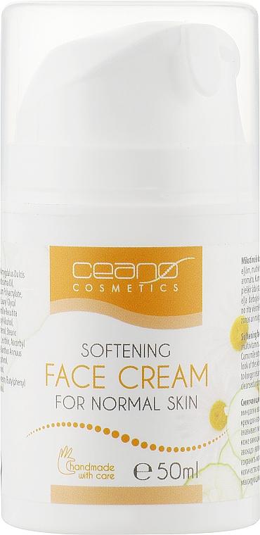Крем для обличчя - Ceano Cosmetics Face cream Softening — фото N1
