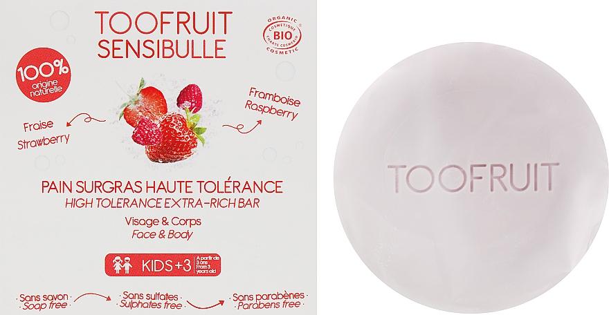 """Мыло """"Клубника & Малина"""" - Toofruit Sensibulle Raspberry Strawberry Soap"""